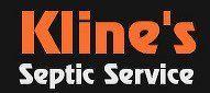 Kline's Septic Tank Service - Logo