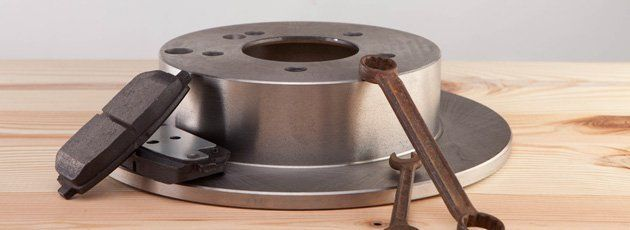 Brake pads and drums