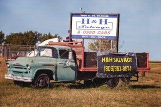 H & H Salvage store