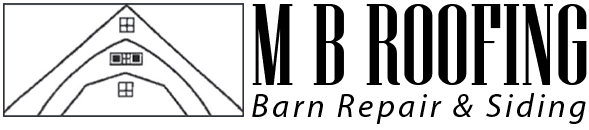 M B Roofing Barn Repair & Siding - logo