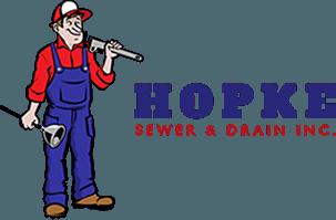 Hopke Sewer & Drain Inc - logo