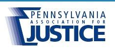 Pa Assoc. for Justice logo