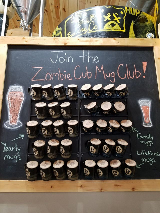 Merchandise | Zombie Cub Mug Club | Grayling, MI