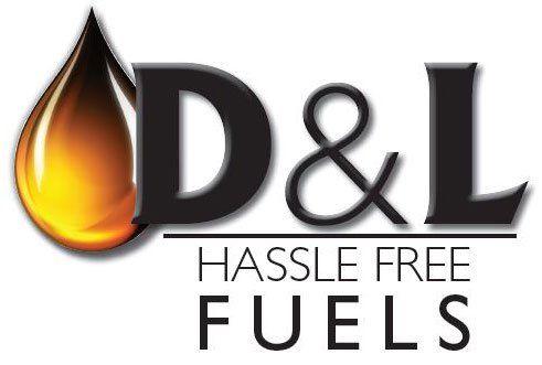 D&L Hassle Free Fuels - Logo