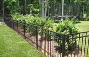 Wrought Iron Fence Fencing Services Indianapolis In