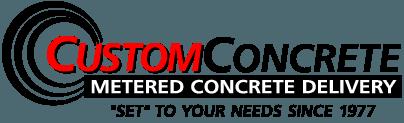 Custom Concrete Logo