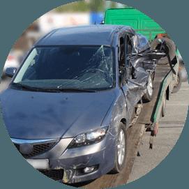 Towing junk car