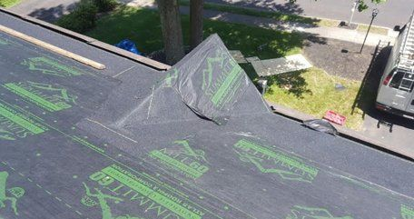 Roof repairs and installations