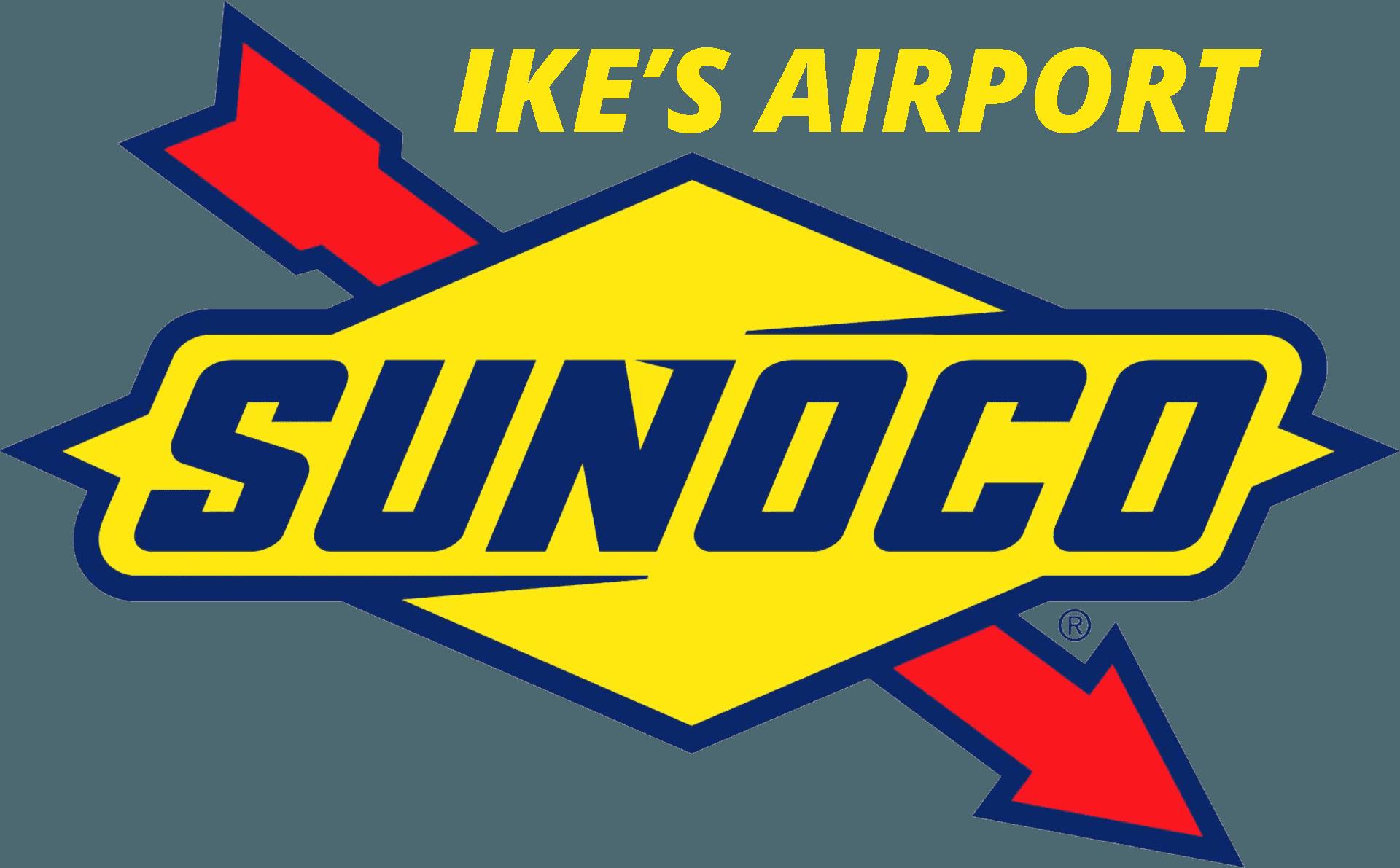 Ike's Airport Sunoco - Logo