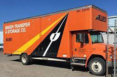 Baker Transfer & Storage truck