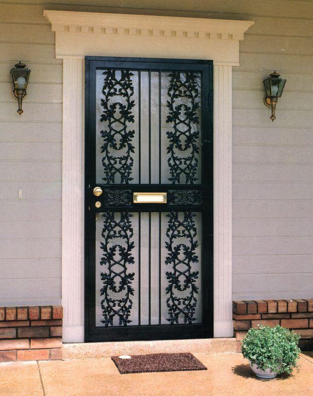 Security Doors Cincinnati Oh