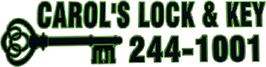 Carol's Lock & Key - Logo