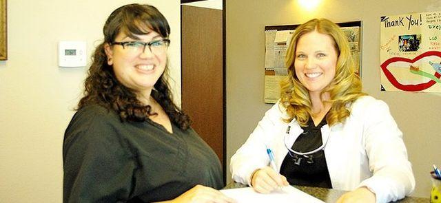 Rebecca & Stephanie of Centerpoint Dental