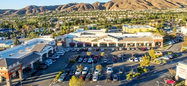 Aerial Centerpoint Shopping center
