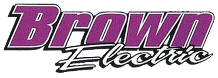 Brown Electric Inc - Logo