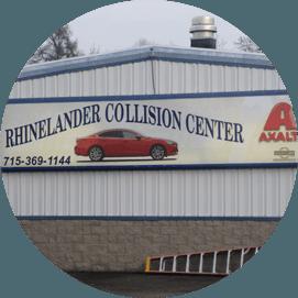 Rhinelander Collision Center Sing Board