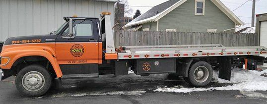 Novak's service truck