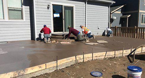 Concrete Contractors Fort Collins, Loveland, Greeley CO