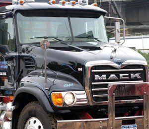 Paul Toth Excavation Inc truck