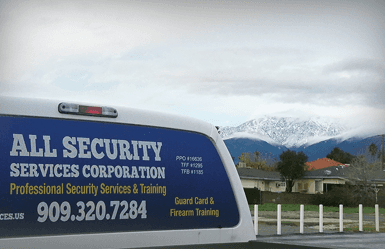 Vehicle Patrol Service