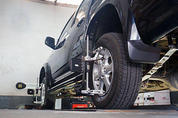 Precision 4-wheel alignment