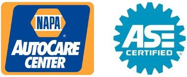 NAPA Auto Care Center, ASE Certified