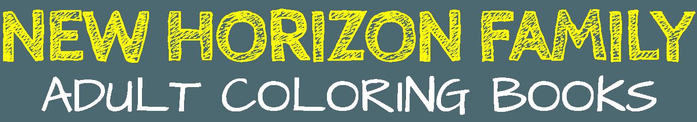 New Horizon Family Adult Coloring Books - Logo