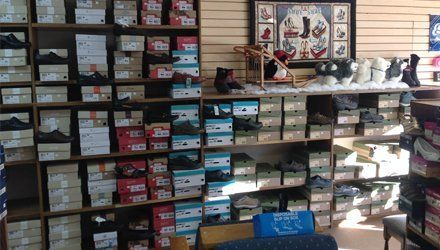 Footwear sale display
