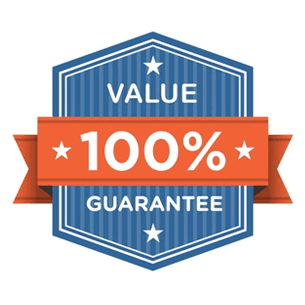 value 100% guarantee