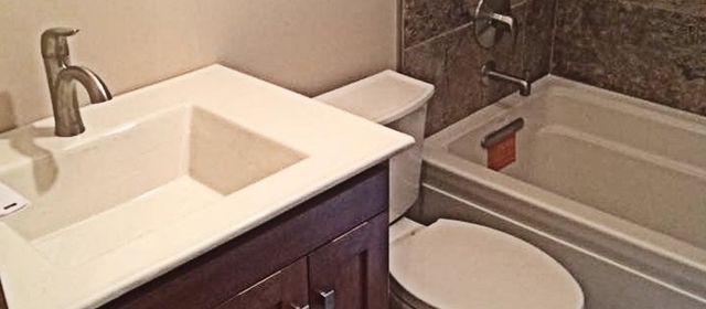 One Stop Solution To Your Bathroom Remodeling Needs. Vanities; Cabinets;  Tub And Shower Installation; Bathroom Flooring