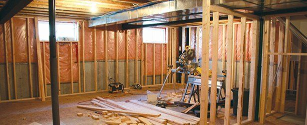 Basement Remodeling Drywall Replacements Pittsburgh PA Extraordinary Basement Remodeling Pittsburgh