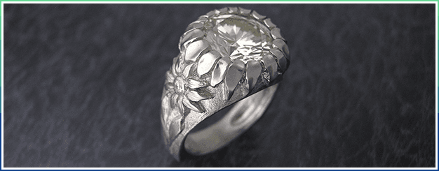 Platinum with diamond