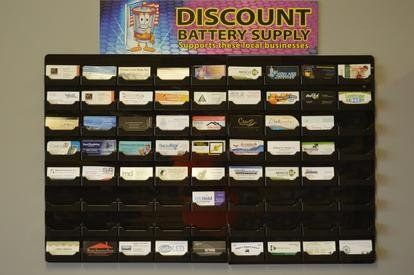 Discount Battery Supply supporting these local businesses
