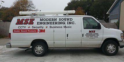 Modern Sound Engineering Inc vehicle