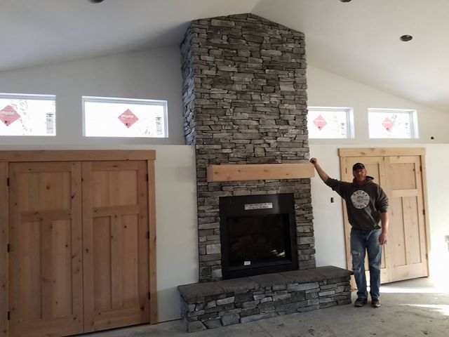 rebuild fireplace.  in your chimney or fireplace contact the expert masons at Classic Masonry for prompt repairs You can rely on us partial complete rebuild of Chimney Repair Fireplace Construction Idaho Falls ID