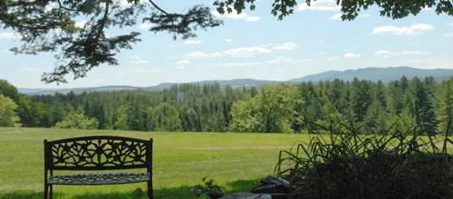 high hill inn scenic view