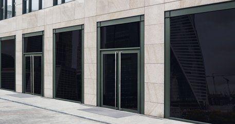 Shops with glass doors and windows & M u0026 M Door Co | Window Trimming | Jackson CA