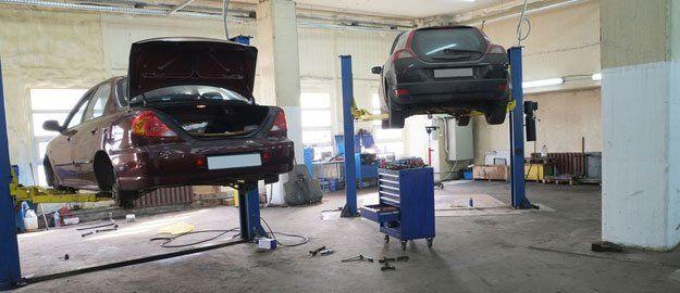 Cars repair shop