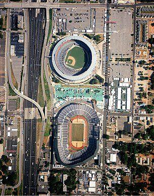 Stadiums Aerial Shot