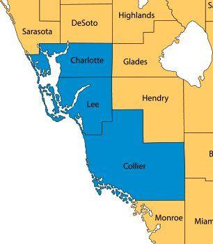 St. Clair's Custom Air | Service Area Map