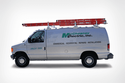 McChesney Electric Inc. service van