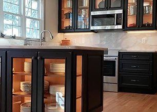 Charmant All Wood Cabinets | Custom Cabinetry | Blountville, TN