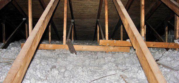 Blown-in insulation
