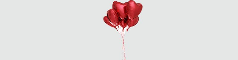 Valentine's Balloon Bouguet