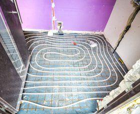 In-floor heating