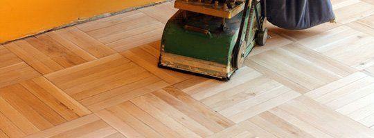 Hardwood Sanding