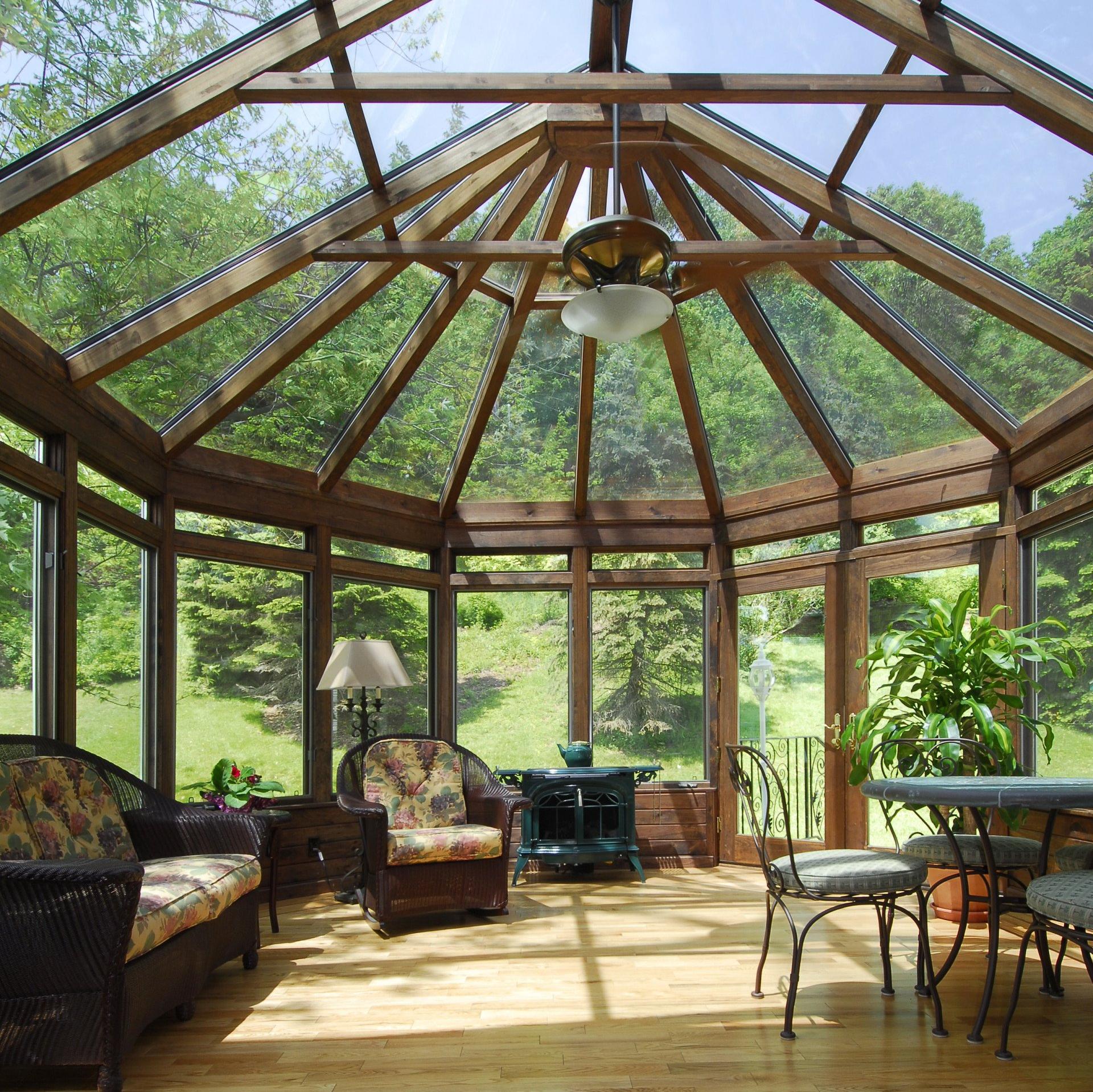 Four Seasons Sunrooms of Ann Arbor Conservatory Sunroom ...