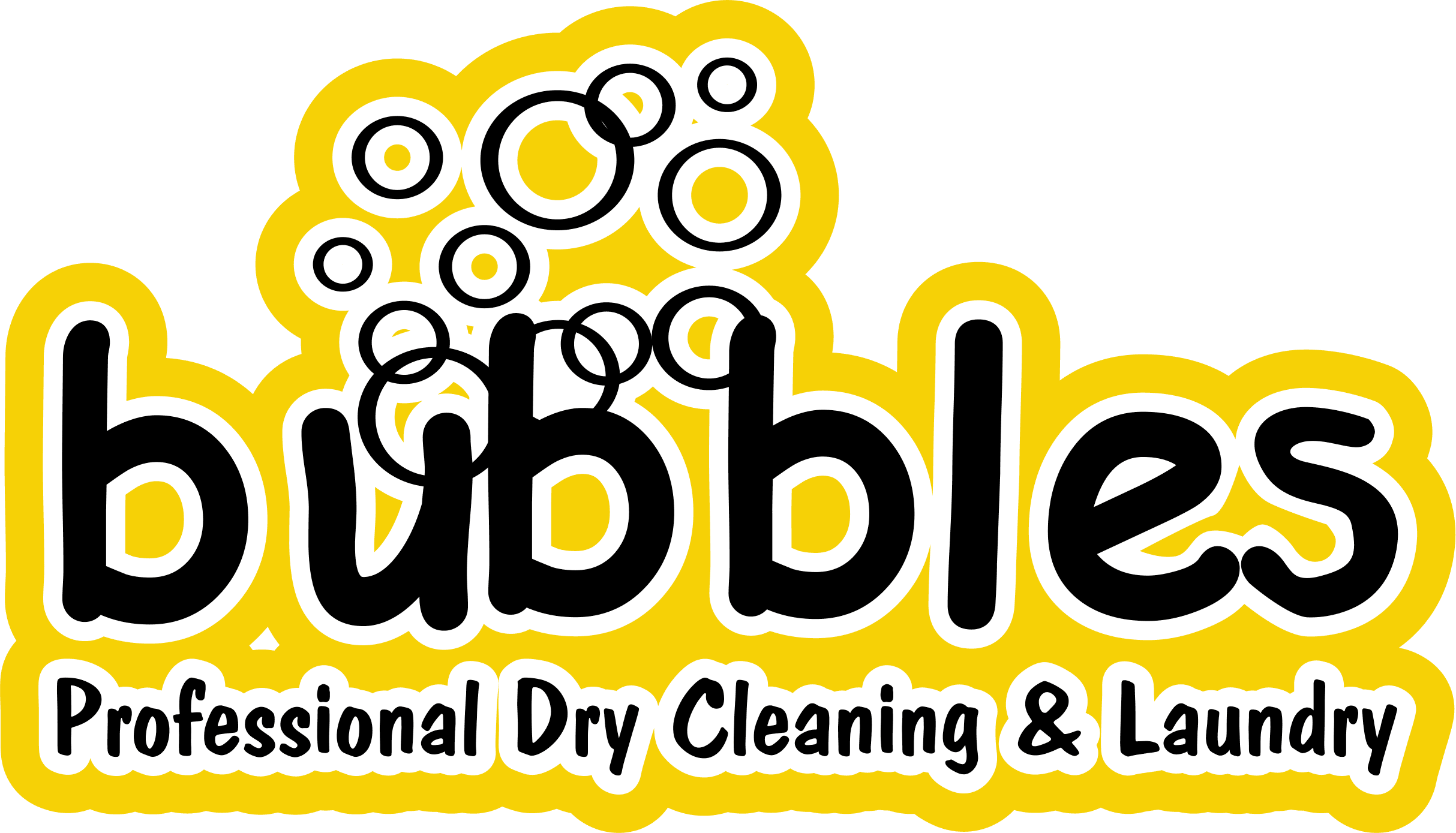 Bubbles Professional Dry Cleaning & Laundry - Logo