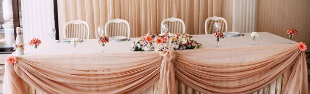 Head Table Skirting