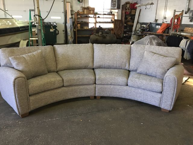 Newly Upholstered Sofa In Rockford Il